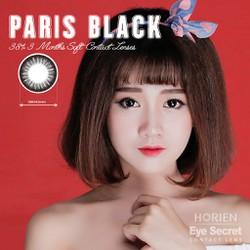 Kính áp tròng màu dùng 3 tháng Eye Secret Contact Lens - Paris Black