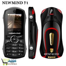 [NHẬP MÃ EL1452 GIẢM THÊM 30K] Điện thoại siêu xe NEWMIND F1, 2 sim, 2 sóng