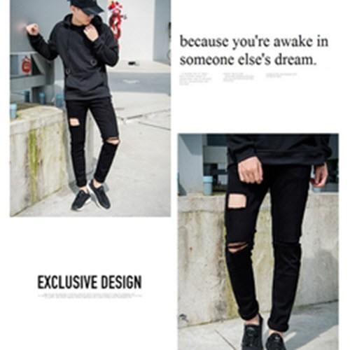 quần jean Nam phong cách mới lạ