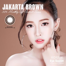Kính áp tròng Eye Secret Contact lens màu JAKARTA BROWN - dùng 1 tháng
