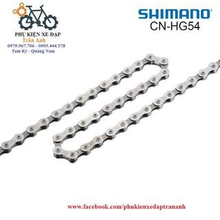 Xích sên xe đạp SHIMANO CN-HG54 10 speed - Chính hãng full box [ĐƯỢC KIỂM HÀNG] 12550098 - 12550098 thumbnail