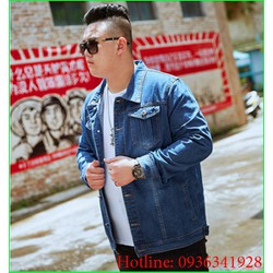 áo jean big size nam