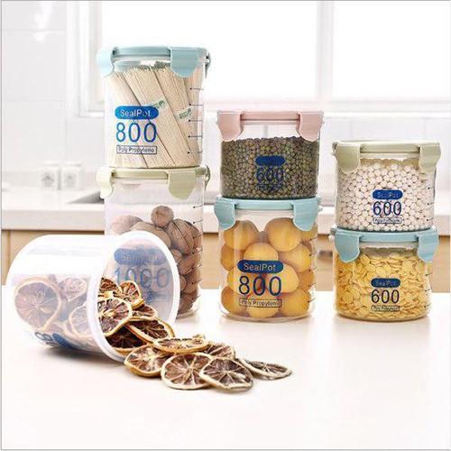 Hộp nhựa đựng đồ đa năng I hộp đựng thực phẩm 1000ml