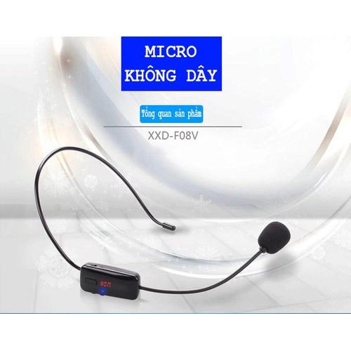 Micro không dây FM cho loa trợ giảng XXD-F08V