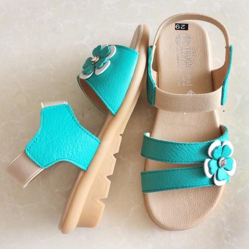 Giày bé gái | Giày sandal cho bé gái da bò loại tốt