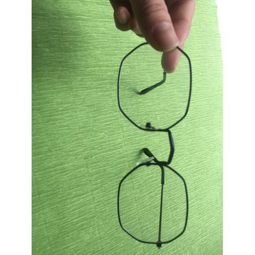 Mắt kính ngố Nobita thời trang nam nữ đen gọng lục giác - 4517113 , 12548220 , 15_12548220 , 35000 , Mat-kinh-ngo-Nobita-thoi-trang-nam-nu-den-gong-luc-giac-15_12548220 , sendo.vn , Mắt kính ngố Nobita thời trang nam nữ đen gọng lục giác