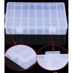 hộp nhựa nhiều ngăn 35 x 21.5 x 5cm nhựa cứng các ngăn tháo rời được
