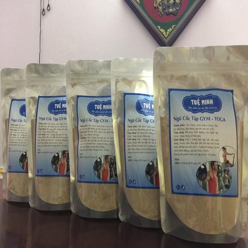1000g bột ngũ cốc TẬP GYM – YOGA 9 loại hạt TUỆ MINH