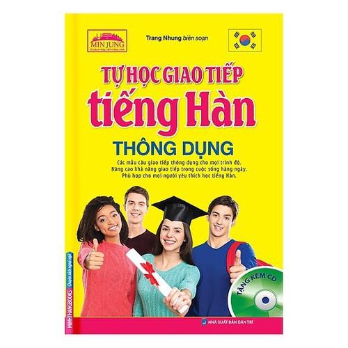 Tự Học Giao Tiếp Tiếng Hàn Thông Dụng Kèm CD