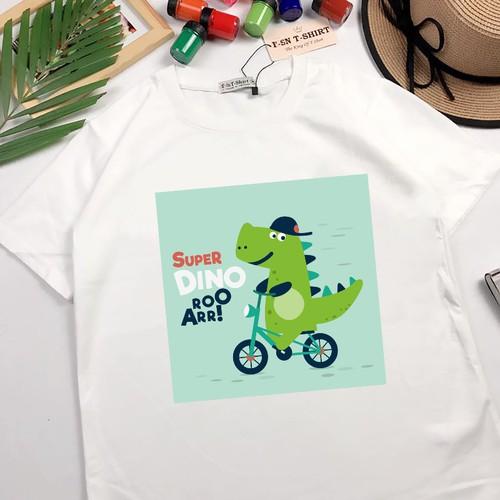 Áo thun nam nữ in hình khủng long chạy xe đạp cute dễ thương hoạt hình có bigsize cho người mập béo - 5627963 , 12055797 , 15_12055797 , 159000 , Ao-thun-nam-nu-in-hinh-khung-long-chay-xe-dap-cute-de-thuong-hoat-hinh-co-bigsize-cho-nguoi-map-beo-15_12055797 , sendo.vn , Áo thun nam nữ in hình khủng long chạy xe đạp cute dễ thương hoạt hình có bigsize