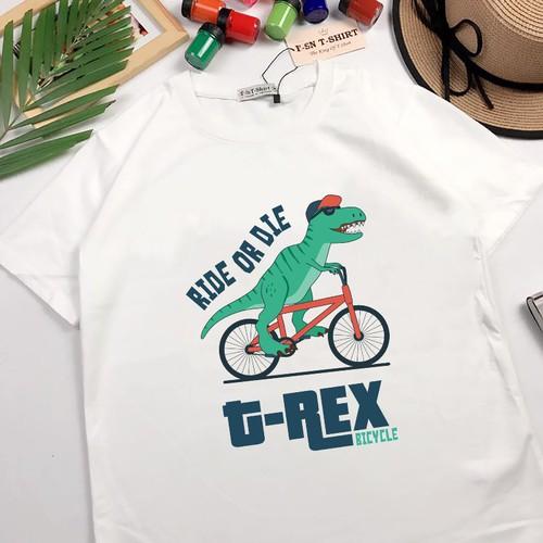 Áo thun nam nữ in hình khủng long chạy xe đạp cực ngầu cá tính - 5627925 , 12055732 , 15_12055732 , 159000 , Ao-thun-nam-nu-in-hinh-khung-long-chay-xe-dap-cuc-ngau-ca-tinh-15_12055732 , sendo.vn , Áo thun nam nữ in hình khủng long chạy xe đạp cực ngầu cá tính