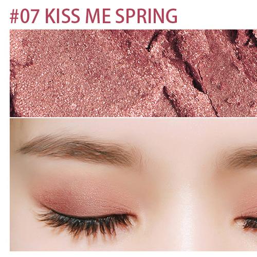 Phấn Mắt Bbia Plush Shadow – No.07: Kiss Me Spring