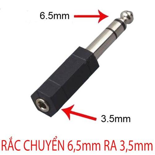 Đầu Jack Chuyển Audio Từ Cổng 6,5mm Sang 3.5 mm  1chiếc Mầu Đen - 5627941 , 12055754 , 15_12055754 , 35000 , Dau-Jack-Chuyen-Audio-Tu-Cong-65mm-Sang-3.5-mm-1chiec-Mau-Den-15_12055754 , sendo.vn , Đầu Jack Chuyển Audio Từ Cổng 6,5mm Sang 3.5 mm  1chiếc Mầu Đen