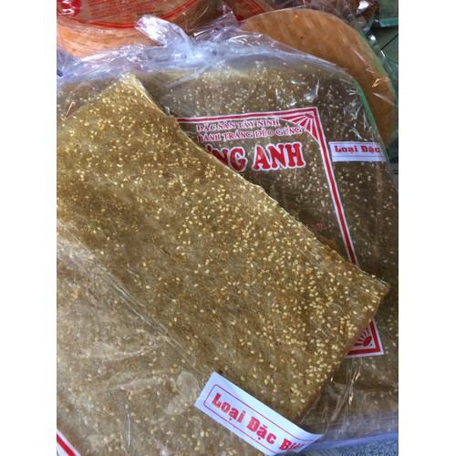 Bánh tráng dẻo gừng mè Tây Ninh