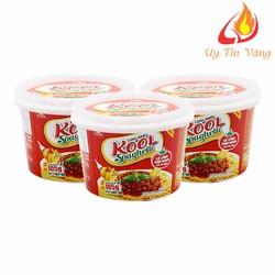 Combo 5 Hộp Mì Khoai Tây Cung Đình Kool Sốt Spaghetti Vị Thịt Bò Bằm