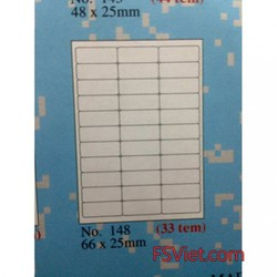 Giấy in decal Tomy A4