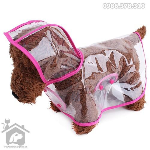 Áo mưa trong suốt cho chó mèo size XS - Phụ kiện thú cưng Hà Nội - 5621300 , 12047079 , 15_12047079 , 75000 , Ao-mua-trong-suot-cho-cho-meo-size-XS-Phu-kien-thu-cung-Ha-Noi-15_12047079 , sendo.vn , Áo mưa trong suốt cho chó mèo size XS - Phụ kiện thú cưng Hà Nội
