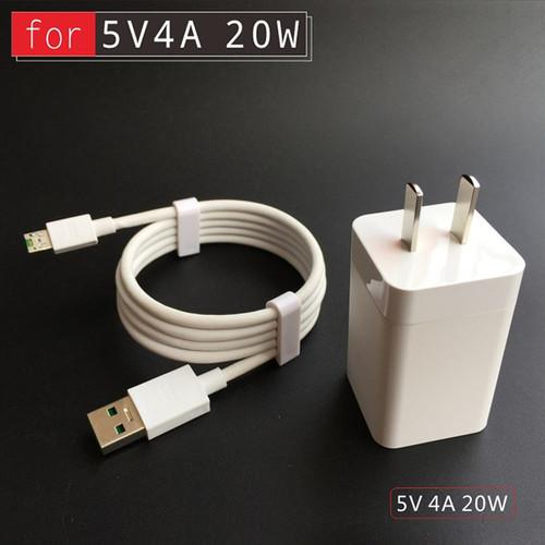 Bộ Sạc Nhanh Oppo R9S Plus VOOC và dây cáp Oppo VOOC 7 pin Zin máy