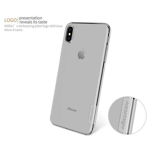 Ốp silicon iPhone Xs Plus 6.5inch Nillkin chính hãng