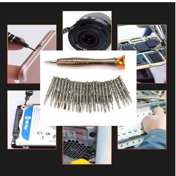 Bộ Tua Vít sửa chữa điện thoại đa năng có nam châm 2