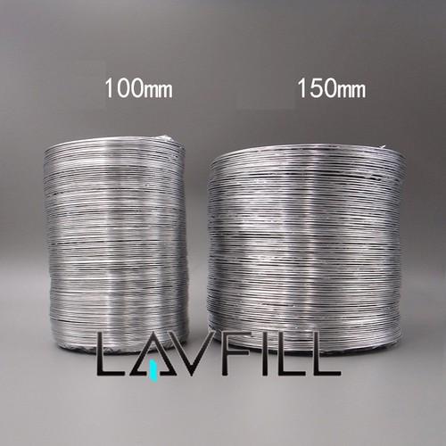 Ống bạc dẫn gió D150 - dài tiêu chuẩn 9m LAVFILL LFP-13-AP