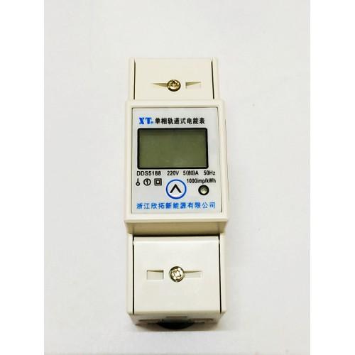 Công tơ điện điện tử, Đồng hồ đo công suất thiết bị  V A W Wh pf Hz