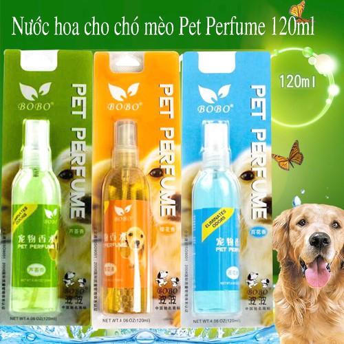 Nước hoa cho chó mèo Pet Perfume 120ml - CutePets