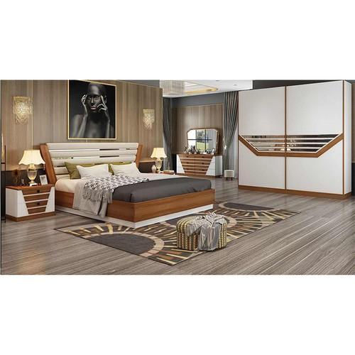 Bộ giường tủ hiện đại nhập khẩu PH-GN18-18 cao cấp