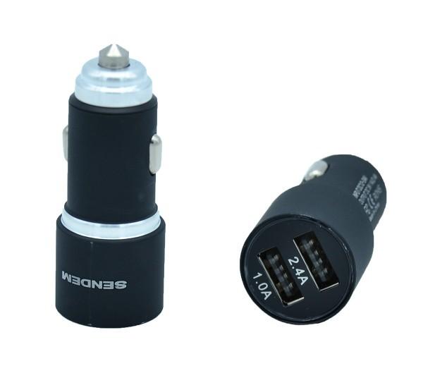 Tẩu Sạc Ô Tô Sendem D6 2 Cổng USB - Sang Trọng Và Đẳng Cấp 1