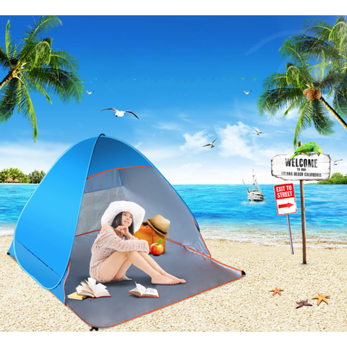 Lều trại ngoài trời phủ bạc uv 50+ - best seller tony