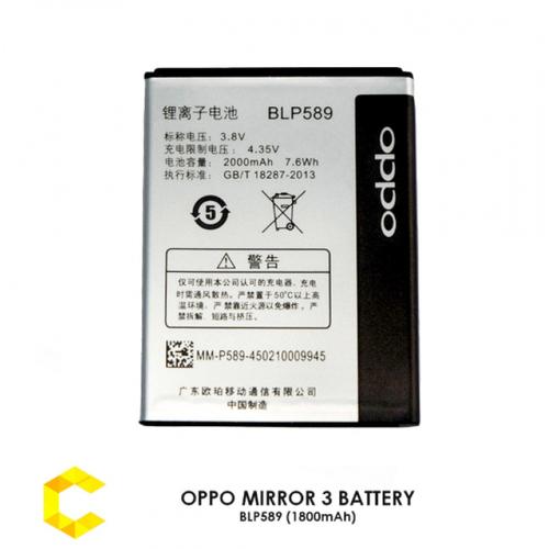 Pin Oppo Mirror 3 R3001 BLP589 1800 mAh
