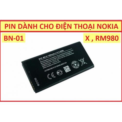 Pin Nokia X BN-01 1500 mAh - 6056377 , 12568038 , 15_12568038 , 80000 , Pin-Nokia-X-BN-01-1500-mAh-15_12568038 , sendo.vn , Pin Nokia X BN-01 1500 mAh
