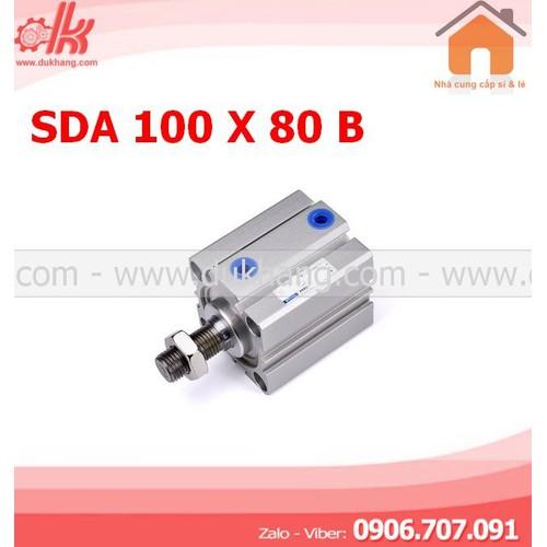 XY LANH VUÔNG SDA 100 X 80