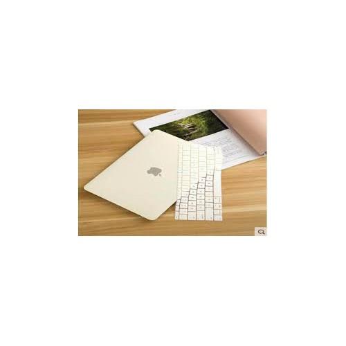 Combo Ốp + Phủ Phím Kem Pastel Cho Macbook Pro 15 inch