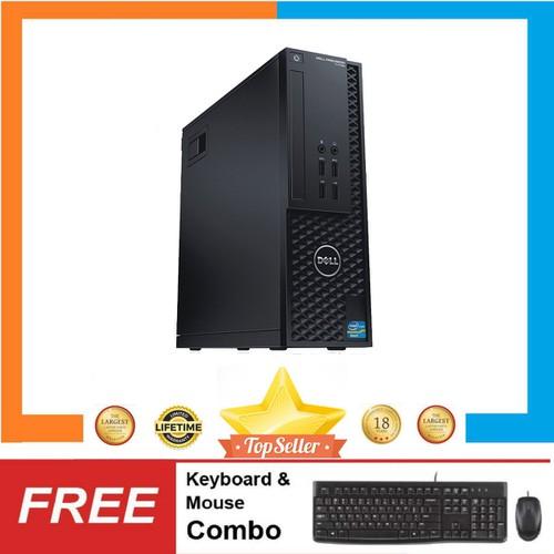 PC Dell Precision T1700 SFF + LCD 24inch,i5 4570,R 4GB,HDD500GB