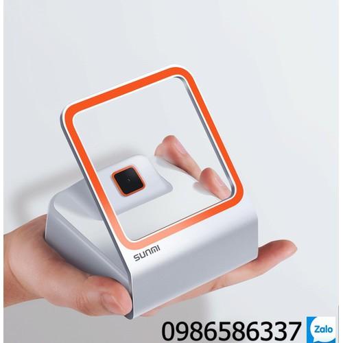 Máy quét mã vạch, QR code Sunmi  hỗ trợ thanh toán qua màn hình mobile