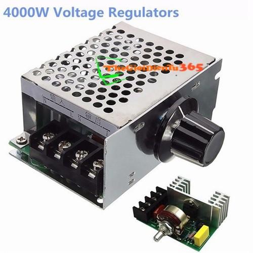 Dimmer 4000W Điều Tốc Động Cơ AC 220V