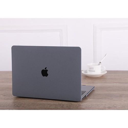 Ốp màu xám nhám tuyệt đẹp bảo vệ cho macbook đủ dòng