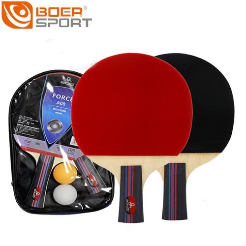 Bộ 2 vợt bóng bàn Boer A08 tặng kèm 2 bóng - 6049229 , 12558783 , 15_12558783 , 189000 , Bo-2-vot-bong-ban-Boer-A08-tang-kem-2-bong-15_12558783 , sendo.vn , Bộ 2 vợt bóng bàn Boer A08 tặng kèm 2 bóng