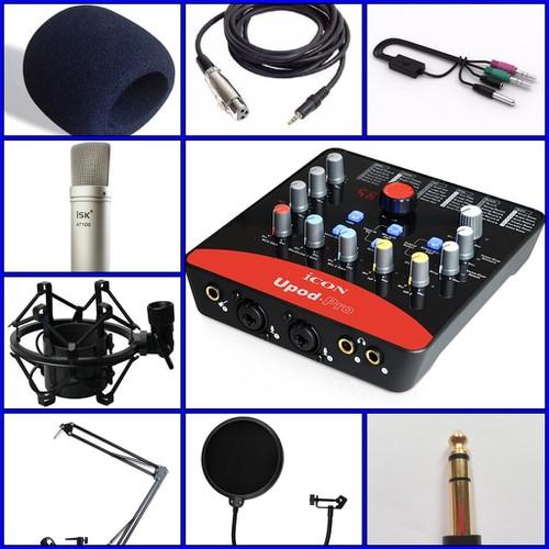 Bộ hát thu âm, livestream, karaoke online ICON UPOD PRO và ISK AT100 - 6052427 , 12562763 , 15_12562763 , 2680000 , Bo-hat-thu-am-livestream-karaoke-online-ICON-UPOD-PRO-va-ISK-AT100-15_12562763 , sendo.vn , Bộ hát thu âm, livestream, karaoke online ICON UPOD PRO và ISK AT100