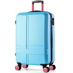 Vali kéo có khóa số SkyLink Bravia 20inch Xanh Tặng thẻ hành lý