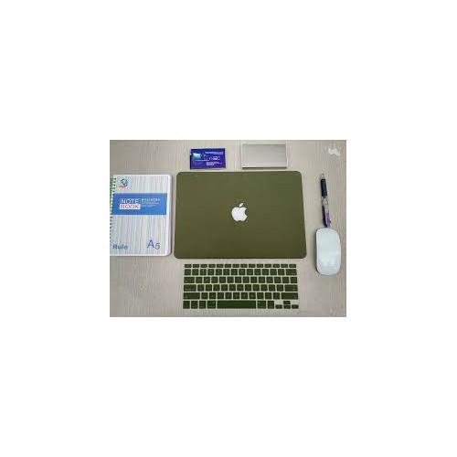 Combo ốp và phủ phím Màu Xanh Rêu Macbook Air 11.6 inch