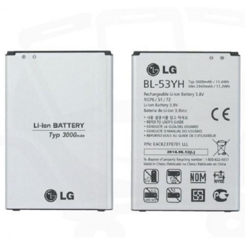 Pin LG Optimus G3 E855-F400 BL-53YH 3000 mAh