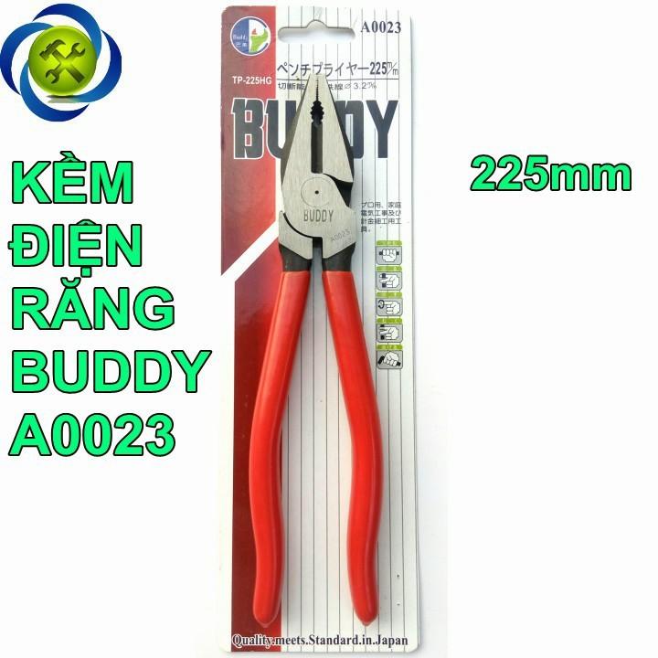 Kềm điện răng Buddy A0023 225mm 1