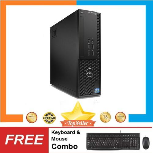 PC Dell Precision T1700 SFF + LCD 24inch,i3 4130,R 8GB,HDD500GB