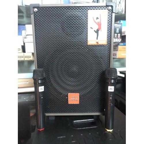 loa kéo karaoke JBZ - Loa di động 107 kem 2 mic chính hãng