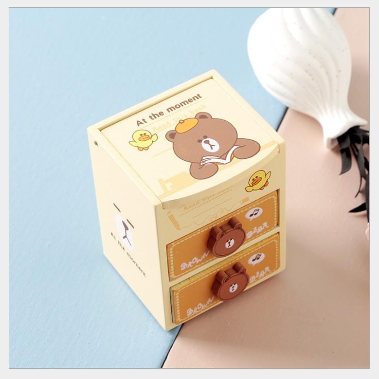 Tủ Mini Đựng Mỹ Phẩm Trang Sức Cute 1