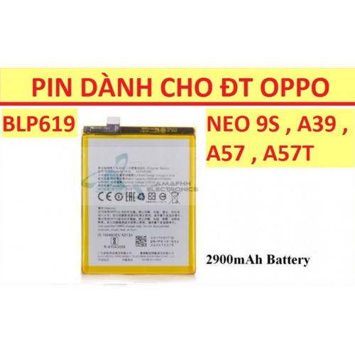 Pin Oppo Neo 9s - A39 - F3 Lite - A57 BLP619 2900 mAh - 6056753 , 12568385 , 15_12568385 , 130000 , Pin-Oppo-Neo-9s-A39-F3-Lite-A57-BLP619-2900-mAh-15_12568385 , sendo.vn , Pin Oppo Neo 9s - A39 - F3 Lite - A57 BLP619 2900 mAh
