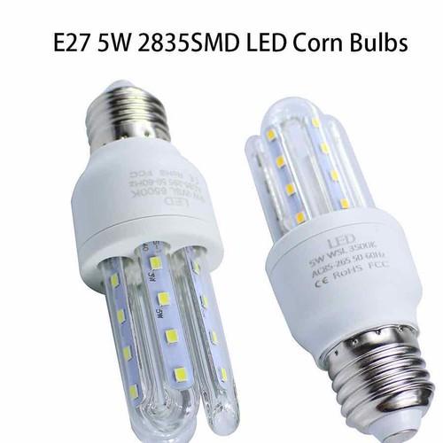 Bộ 10 bóng đèn led 3u 5w ánh sáng trắng giá rẻ