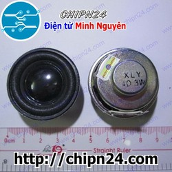 [2 cái] Loa 4R 3W Tròn 40mm, Loa 4 ohm - 3W Tròn đường kính 40mm